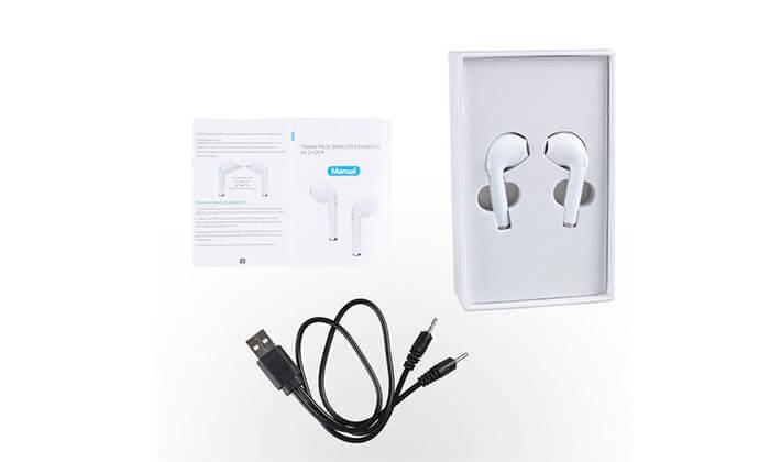 9 אוזניות Bluetooth אלחוטיות - דגמים וצבעים לבחירה