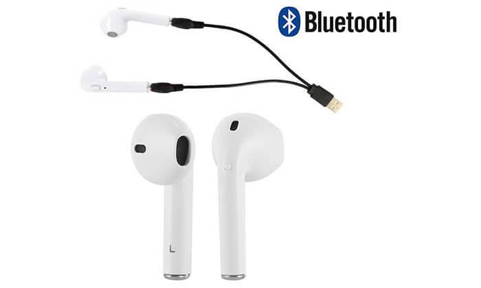 10 אוזניות Bluetooth אלחוטיות - דגמים וצבעים לבחירה