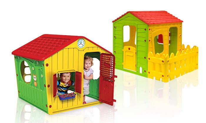2 בית פלסטיק לילדים