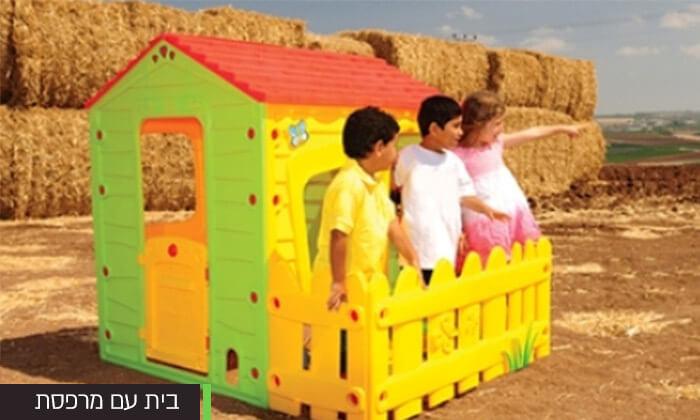 3 בית פלסטיק לילדים