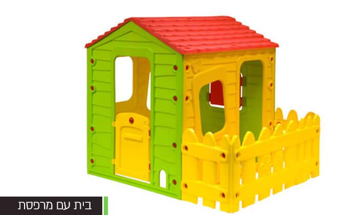 4 בית פלסטיק לילדים