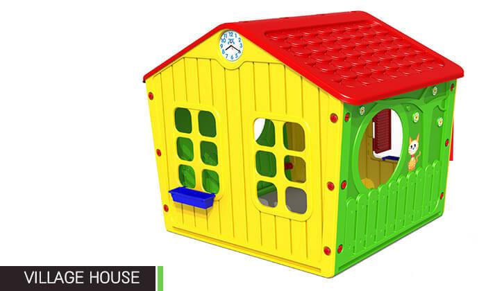 5 בית פלסטיק לילדים