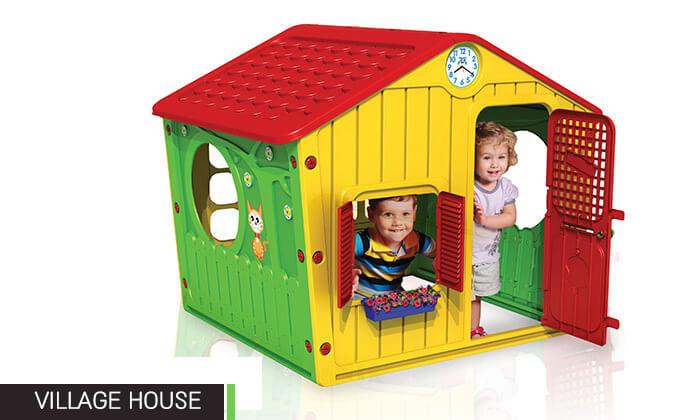 6 בית פלסטיק לילדים