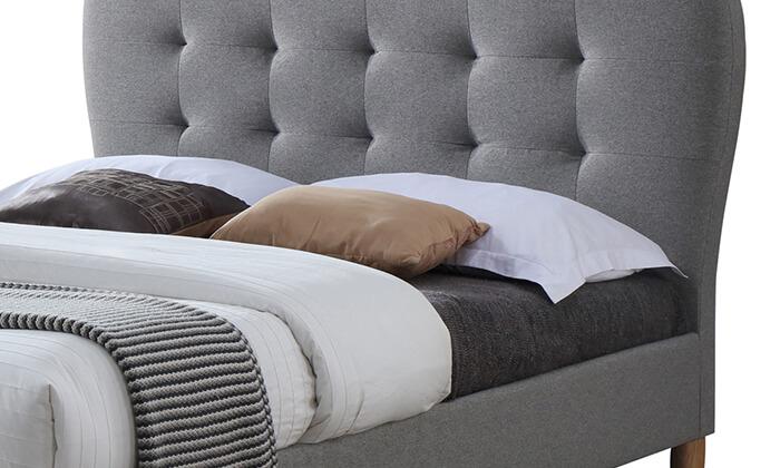 3 מיטה זוגית מרופדת HOME DECORדגם טנגו