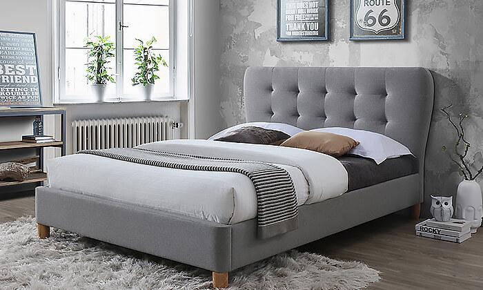 5 מיטה זוגית מרופדת HOME DECORדגם טנגו