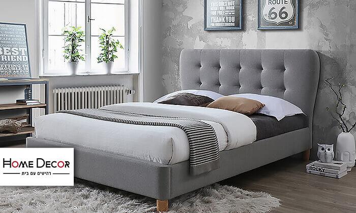 2 מיטה זוגית מרופדת HOME DECORדגם טנגו