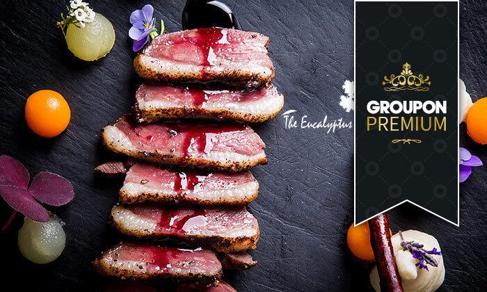 2 Groupon Premium   ארוחת טעימות כשרה במסעדת האקליפטוס של שף משה בסון