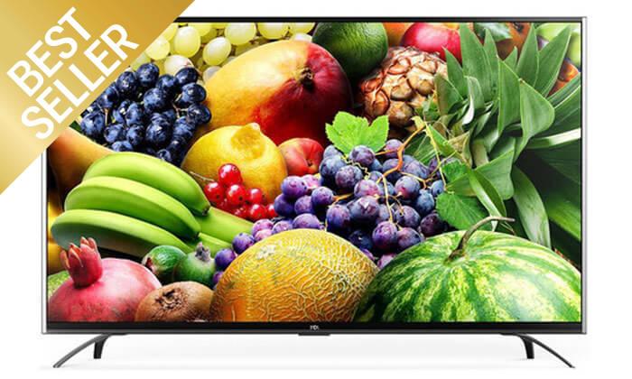 2 טלוויזיה 70 אינץ' SMART 4K TCL