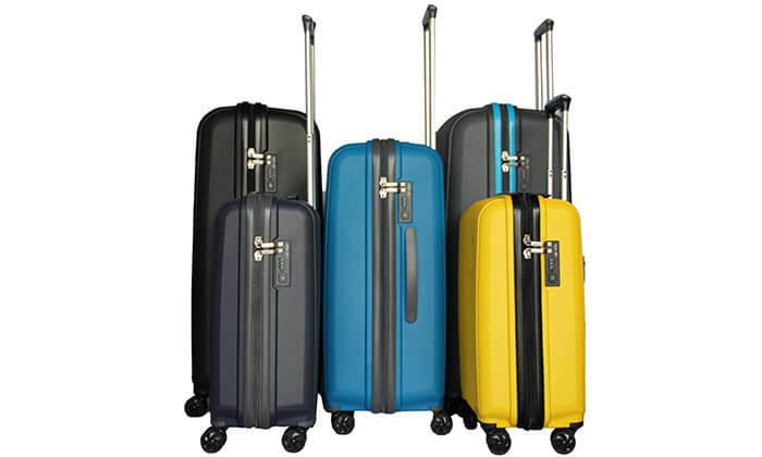 3 מזוודת נסיעות בגדלים שונים