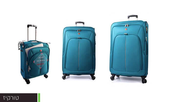 3 סט מזוודות SWISS