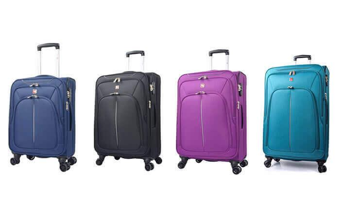 6 סט מזוודות SWISS