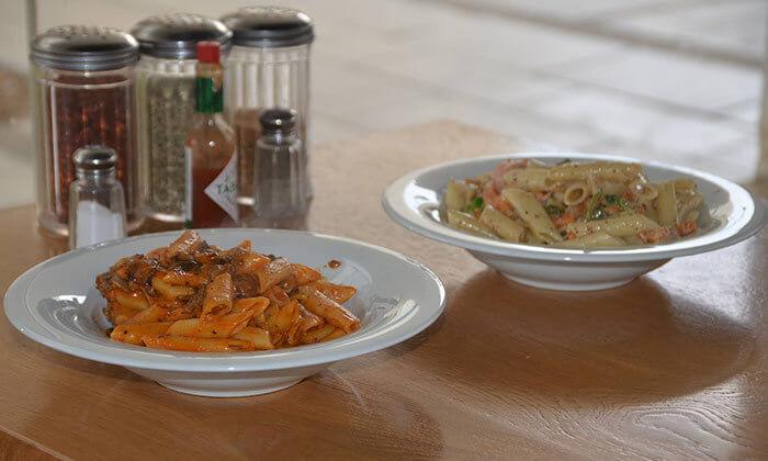 3 ארוחת פסטה זוגית במסעדת הפקולטה, מתחם ברושים אוניברסיטת תל אביב