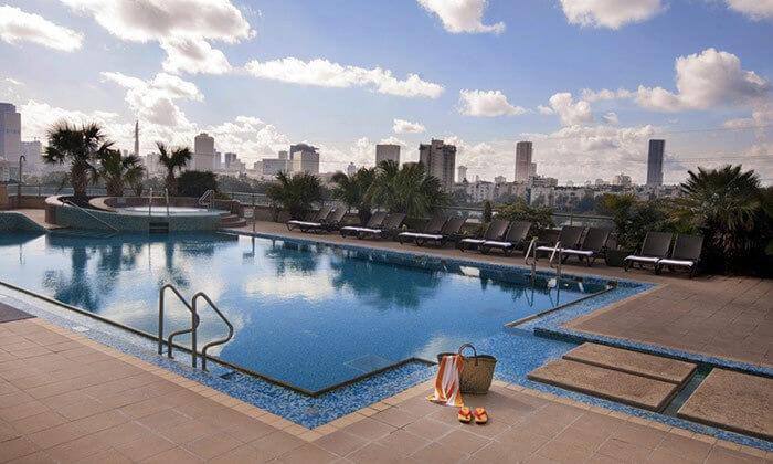 5 ארוחת בוקר בופה במלון לאונרדו סיטי טאוור, תל אביב