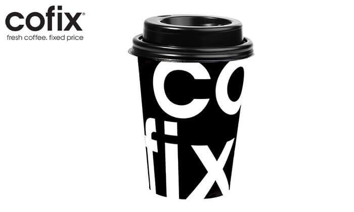 2 קפה או תה בחצי מחיר בסניפי קופיקס