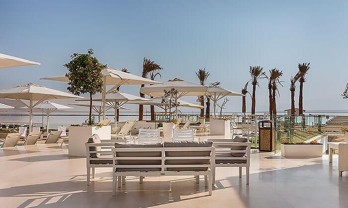 5 יום כיף עם עיסוי וארוחה בספא מלון הוד המדבר, ים המלח