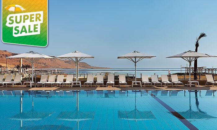 10 יום כיף עם עיסוי וארוחה בספא מלון הוד המדבר, ים המלח