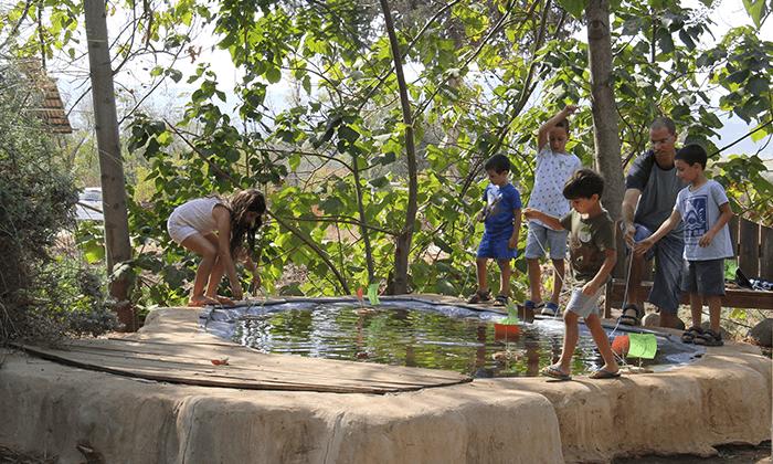 4 כניסה לפארק הילדים דרך העץ, שדמות דבורה