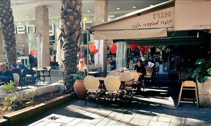 4 ארוחת בוקר זוגית בקפה אגוז, חיפה