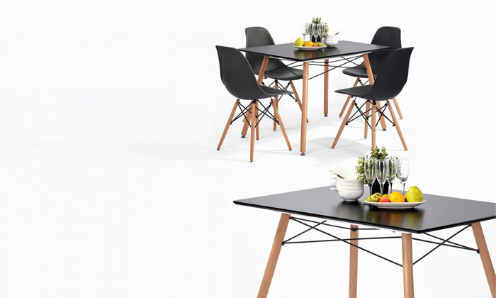 4 שולחן פינת אוכל HOMAX