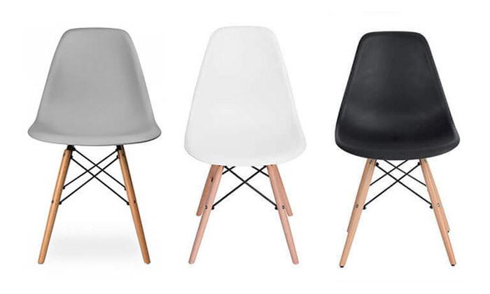 2 כיסא לפינת אוכל HOMAX דגם לונדון - צבעים לבחירה