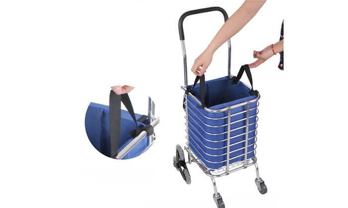 3 עגלת סופר לקניות