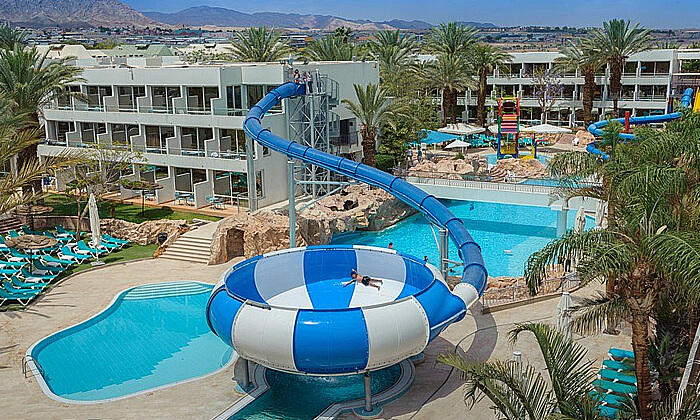 3 יום כיף בפארק המים במלון לאונרדו קלאב, אילת