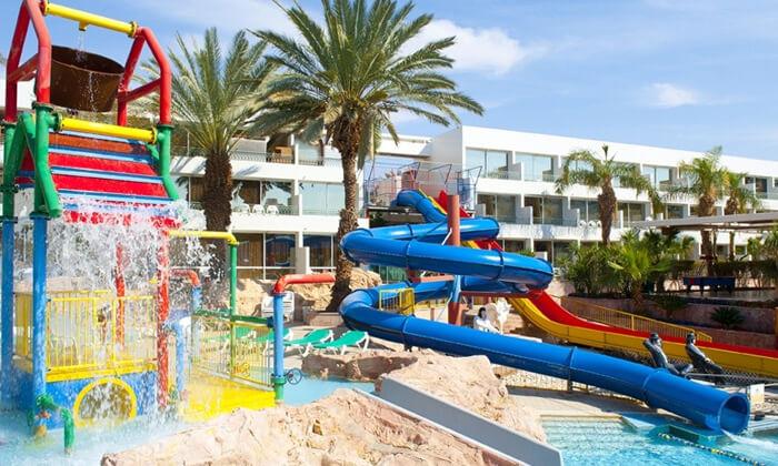 2 יום כיף בפארק המים במלון לאונרדו קלאב, אילת