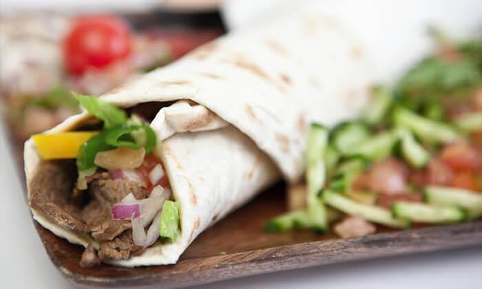 2 ארוחת טורטייה במסעדת המקסיקני, אשקלון