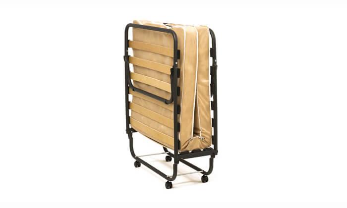 3 מיטה מתקפלת LUCCA על גלגלים כולל מזרן