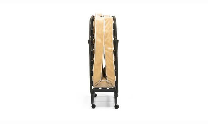 7 מיטה מתקפלת LUCCA על גלגלים כולל מזרן