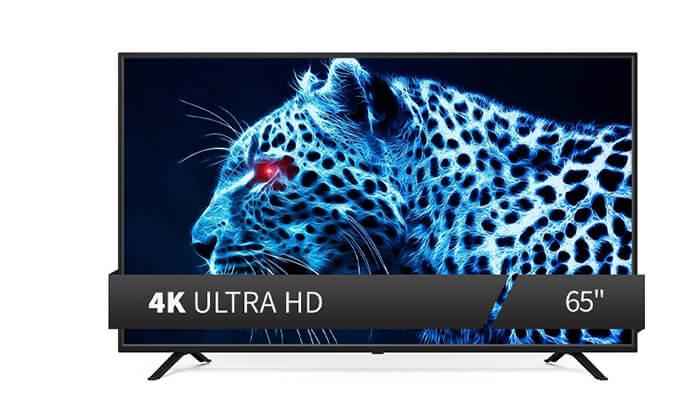 טלוויזיה חכמה PEERLESS4K בגודל 65 אינץ'