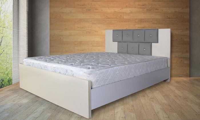 2 מיטת מלמין יצוק עם מזרן מתנה