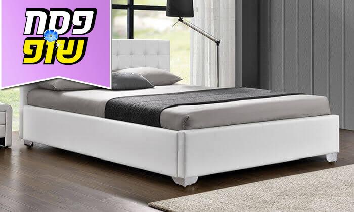 5 מיטה זוגית מעוצבת HOME DECOR, דגם לורי