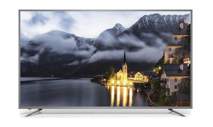 4 טלוויזיה חכמה Peerless 4K, מסך 75 אינץ'