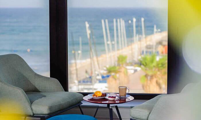 5 ארוחת בוקר כשרה במלון הרודס תל אביב
