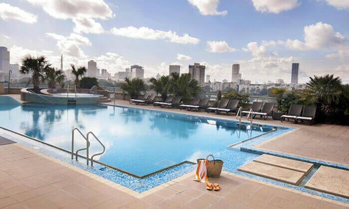 2 יום פינוק במלון לאונרדו סיטי טאוור, רמת גן