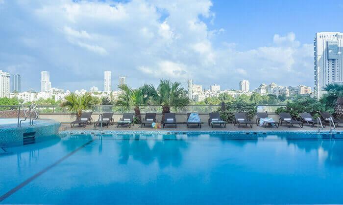 3 יום פינוק במלון לאונרדו סיטי טאוור, רמת גן