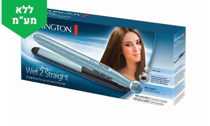 3 מחליק שיער יבש ורטוב REMINGTON