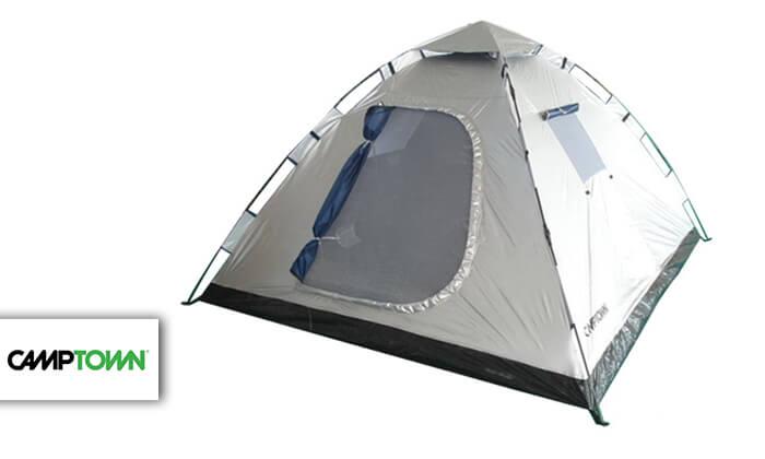 2 אוהלי פתיחה מהירה CAMPTOWN כולל סט יתדות