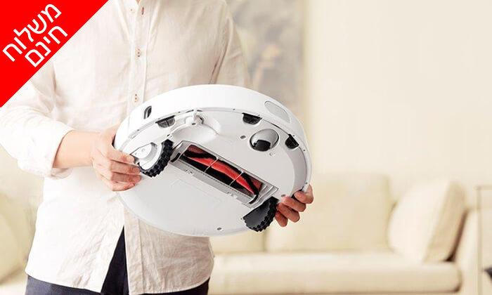 4 שואב אבק רובוטי שיאומי XIAOMI - משלוח חינם