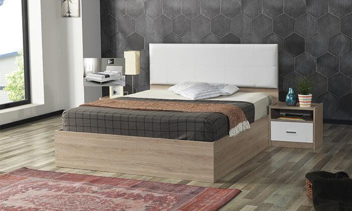 4 מיטה זוגית ו-2 שידות תואמות