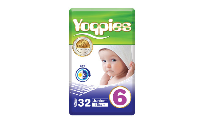 8 5 חבילות חיתולי פרימיום Yoppies