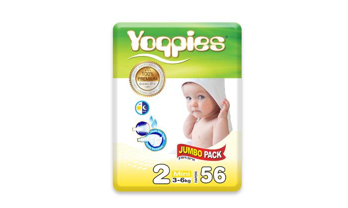 3 5 חבילות חיתולי פרימיום Yoppies