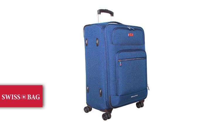 2 מזוודה גדולה 28 אינץ'  SWISS MARCO POLO Prolight