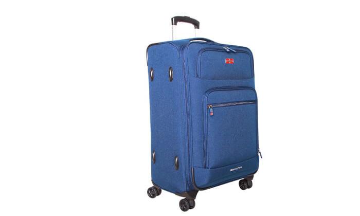 4 מזוודה גדולה 28 אינץ'  SWISS MARCO POLO Prolight