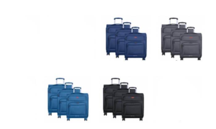 3 מזוודה גדולה 28 אינץ'  SWISS MARCO POLO Prolight