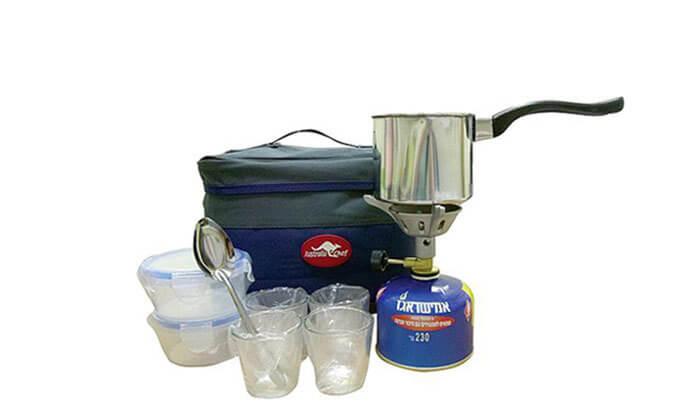 5 ערכת קפה לשטח AUSTRALIA CHEF