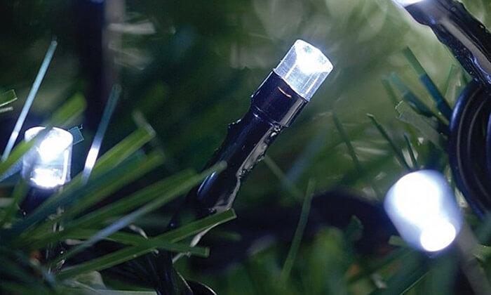 11 שרשרת נורות LED סולאריות