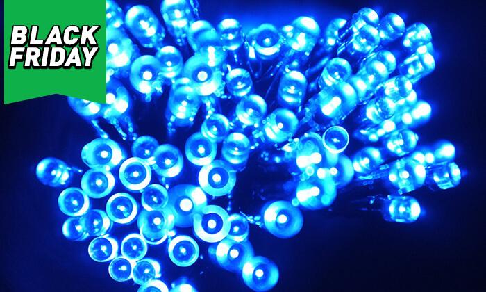 7 שרשרת נורות LED סולאריות