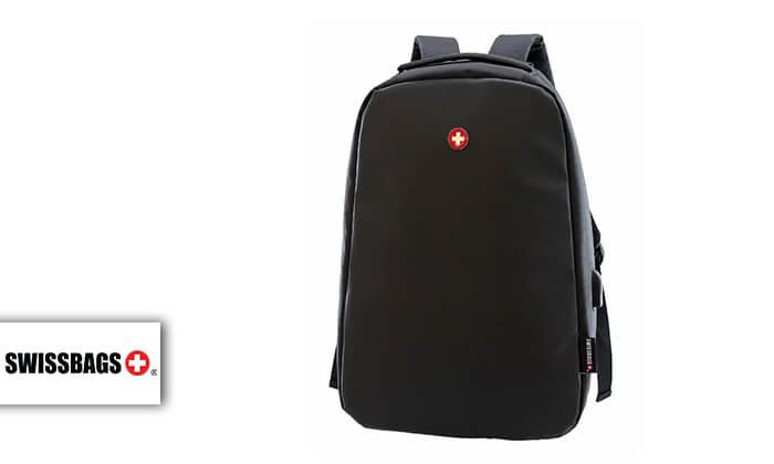 2 מבחר תיקי SWISS BAG נגד כייסים